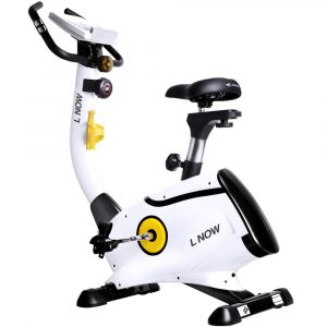 L NOW Upright Exercise Bike with Magnetic Resistance