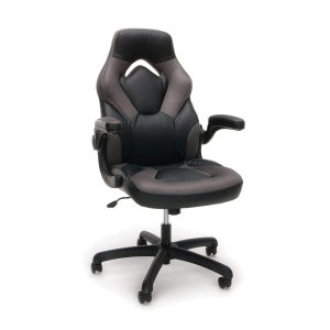 OFM- Essentials Racing Style Leather Swivel Computer Gaming Chair