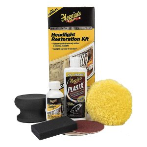 Meguiar's G2980 Heavy-Duty Headlight Restoration Kit