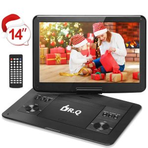 DR.Q 14.1-Inch Portable DVD Player