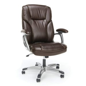 OFM Essentials High-Back Leather Executive Computer Chair