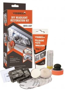 Visbella DIY Vehicle Headlight Restoration Kit