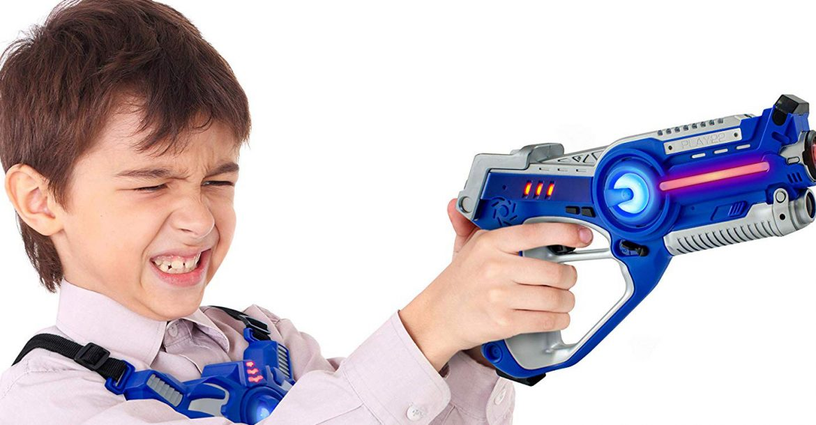 Top 10 Best Laser Tag Guns For Kids in 2019 - Review - Great Gift