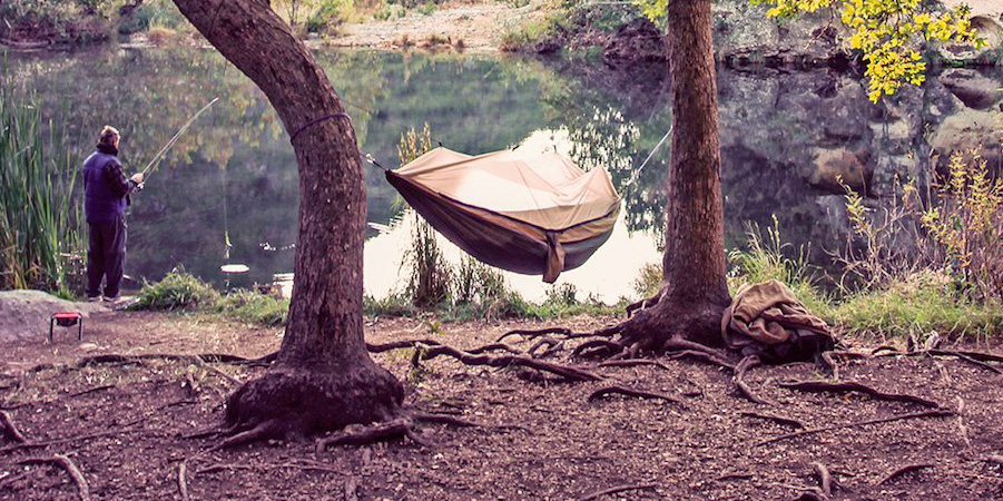 Portable Hammocks with Mosquito Nets