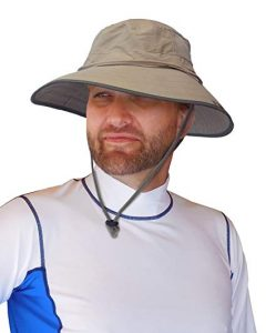 Sun Protection Zone Unisex Adjustable Lightweight Outdoor Booney Hat