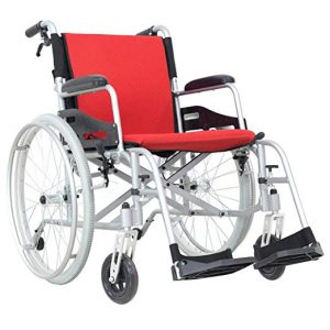 Hi-Fortune Wheelchair Self-propelled 21lbs Lightweight Chair