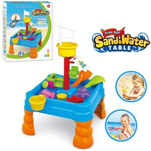 Lenoxx- Kids Toddler Bubble Sand and Water Table