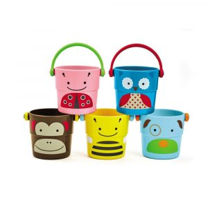 Skip Hop- Zoo Stack and Pour Buckets