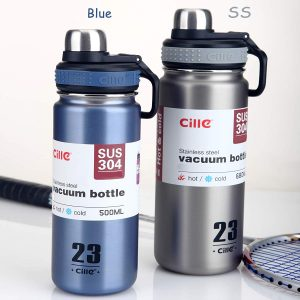CILLE Stainless Steel Vacuum Water Bottle