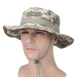 PINGKANG Breathable Diameter 7.5 in Sun Hat for Men