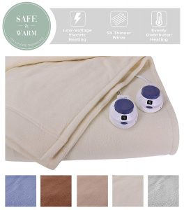 Perfect Fit Electric Heated Blanket