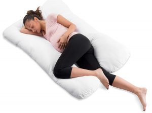 ComfySure Pregnancy U Shaped Maternity Full Body Pillow