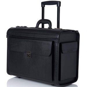 Alpine Swiss – 17-Inch Laptop Briefcase on wheels