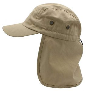 Top Level Fishing UV Protection Sun Cap – Neck and Ear Flap Hat