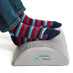 Well Desk Rest My Sole Ergonomic Foot Rest Non-Slip Cushion for Under Desk