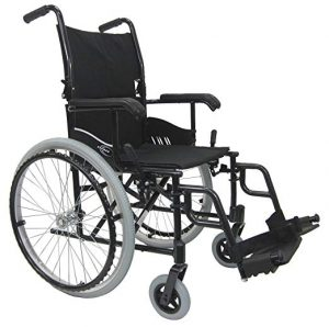 Karman LT-980 24 pounds Ultra Lightweight Wheelchair Black
