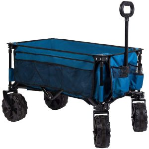 Timber Ridge Folding Beach Cart