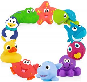 Nuby- Little Squirts Bath Toys