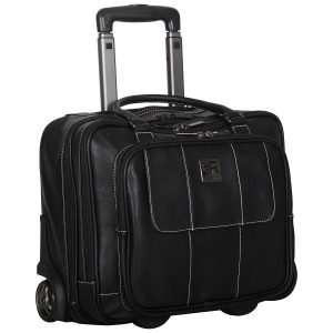 Kenneth Cole REACTION - Top Zip Wheeled Overnighter