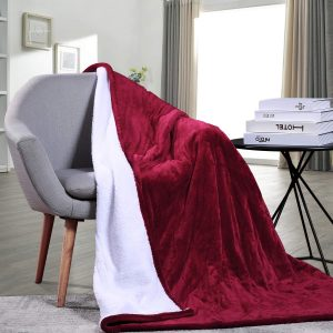 MaxKare Electric Heated Throw Blanket
