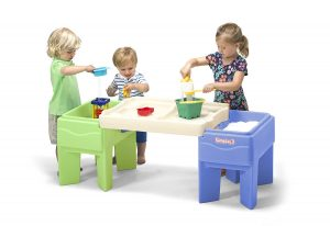 Simplay3 Outdoor Indoor Activity Table with Storage