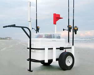 Sea Striker Beach Runner Deluxe Fishing Cart
