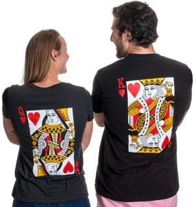 Ann Arbor King & Queen Matching Couples T-Shirts