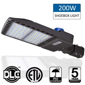 LEDMO 200W LED Parking Lot Lights