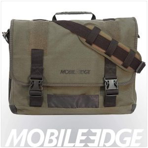 Mobile Edge Eco-Friendly, 17.3 Inch Cotton Canvas Messenger Bag