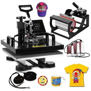 Vevor- Heat Press machine for T-shirts Hat Mug