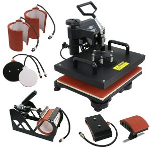 F2C- 6 in 1 Combo Heat Press Machine