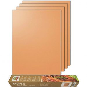 Atiyoc Copper Grill Non-stick and Heat Resistant Baking Mats