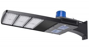 Hyperikon LED Parking Lot Street Lights, Shoebox Pole Light