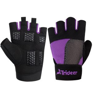 Trideer - Exercise Workout Gloves