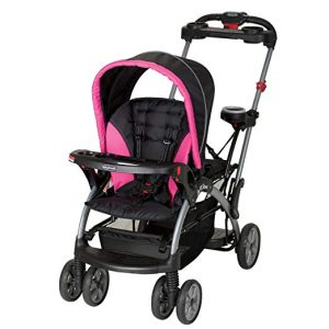Baby Trend Sit n Stand Bubble Gum Ultra Stroller