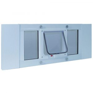 Ideal Pet Products – Aluminum Window Pet Door