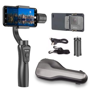 Yomito 3-Axis Handheld Gimbal for Smartphone with Wireless Control