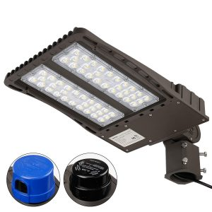 LEONLITE Ultra Bright LED Parking Lot Light 150W