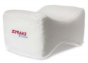 ZIRAKI Memory Foam Wedge-Contour Orthopedic Knee Pillow