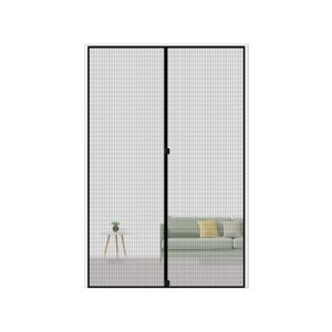 MAGZO Magnetic Screen Door Reinforced Fiberglass Mesh Curtain Entry Door