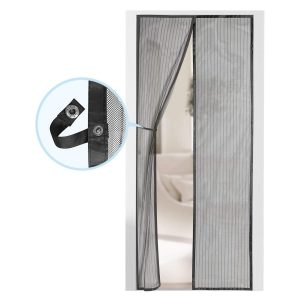 AUGO Self Sealing, Heavy Duty, Hands-Free Magnetic Screen Door