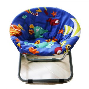AteAte Comfortable Moon Chair for Indoor and Outdoor Fish Design Chair for Children