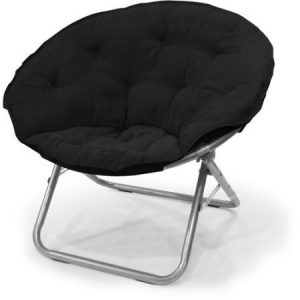 Mainstays Large Microsuede Saucer Chair