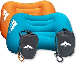 TheBigBlueMtn Ultralight Inflatable Camping Pillow