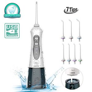 ABOX Cordless Portable Oral Irrigator Water Flosser
