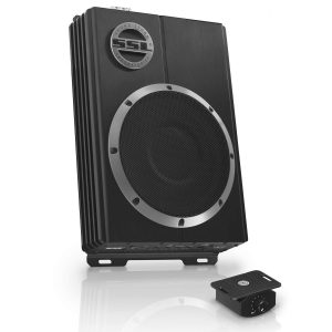 Sound Storm LOPRO8 Low Profile Amplified Car Subwoofer - 600 W Max Power, 8 Inch Subwoofer