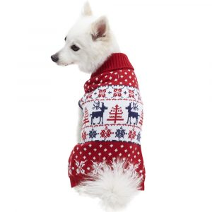 Blueberry Pet Christmas Collections Unisex Dog Sweater