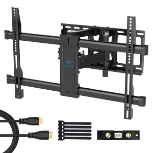 PERLESMITH Full Motion TV Wall Mount Bracket