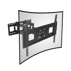Fleximounts Curved TV Wall Mount Bracket