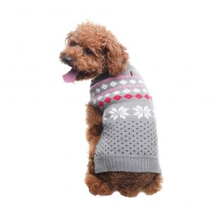 SCENEREAL Dog Christmas Winter Sweater